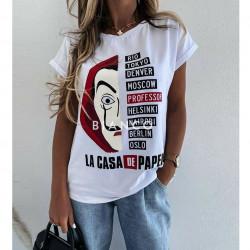 """Μπλούζα """"CASA DE PAPEL"""""""