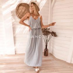 Φόρεμα με σχέδιο στη πλάτη