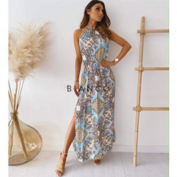 Φόρεμα με λαχούρια