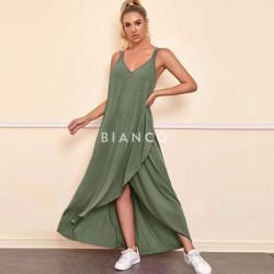 Φόρεμα με σχέδιο κρουαζέ