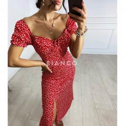Φόρεμα με σκίσιμο