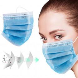 Μάσκες προστασίας μιας χρήσης (50τμχ)