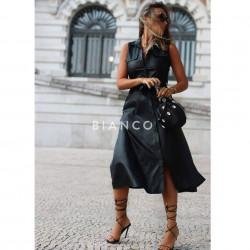 Φόρεμα eco leather