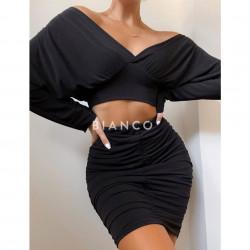 Σετ μπλούζα & φούστα