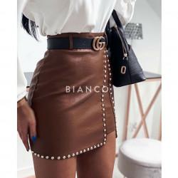 Φούστα eco leather