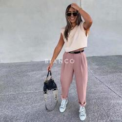 Παντελόνι με ζώνη