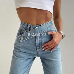 Παντελόνι jean ψηλόμεσο