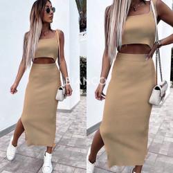 Σετ τοπ & φούστα
