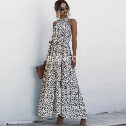 Φόρεμα αμάνικο floral