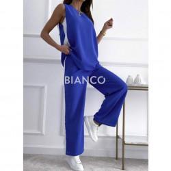 Σετ μπλούζα & παντελόνι με ρίγα