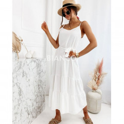 Φόρεμα με ζώνη