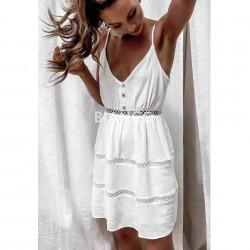Φόρεμα με αζούρι