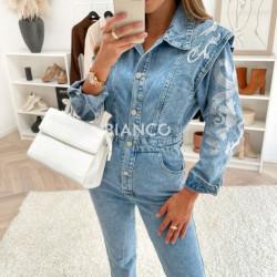 Ολόσωμη jean φόρμα