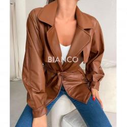 Τζάκετ eco leather