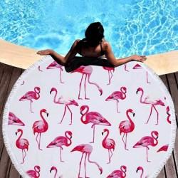 Πετσέτα θαλάσσης με Flamingos