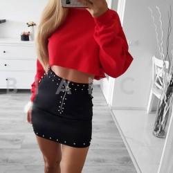 Φούστα με φερμουάρ