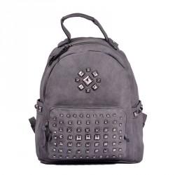Τσάντα back pack με εξωτερικές τσέπες
