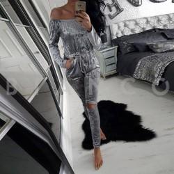 ολόσωμη φόρμα velvet