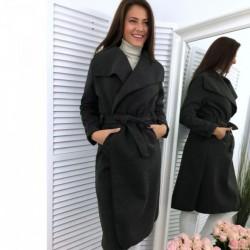 Παλτό μακρύ με γιακά