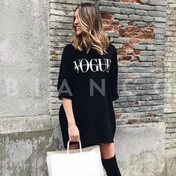 e88ed6aa8022 Φόρεμα φούτερ με στάμπα - bianco.gr