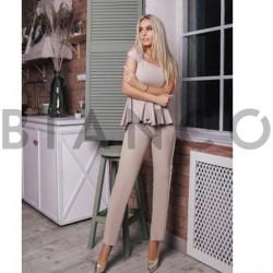 Σετ μπλούζα κλος & παντελόνι με ρίγα