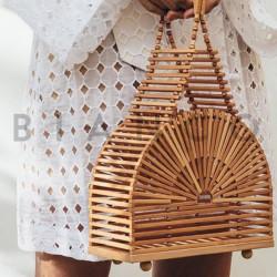 Τσάντα χειρός ξύλινη