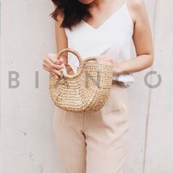 Τσάντα χειρός Bamboo