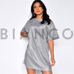 Φόρεμα μεταλιζέ