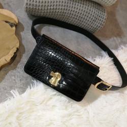 Τσάντα μέσης croco