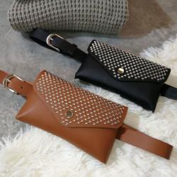 Τσάντα μέσης με τρουκς
