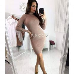Φόρεμα πλεκτό ζιβάγκο