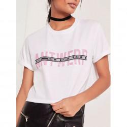 """T-Shirt με στάμπα """"antwerp"""""""