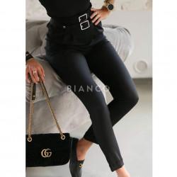 Παντελόνι με διπλή ζώνη