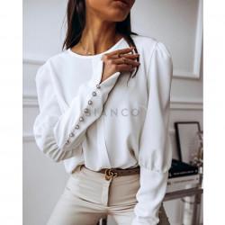Μπλούζα με κουμπιά στα μανίκια