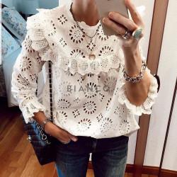 Μπλούζα με σχέδιο κοφτό