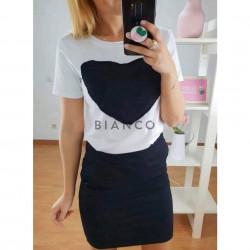 """Σετ, φούστα & μπλούζα """"heart"""""""